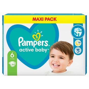 Pampers Active Baby, rozmiar6, 44pieluszek, 13kg-18kg