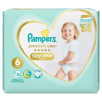 Pampers Premium Care Pants, R6, 31 pieluchomajtek