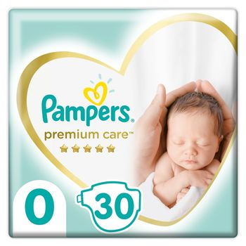 Pampers Premium Care, Rozmiar 0, 30 Pieluszki, <3kg