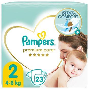 Pampers Premium Care, Rozmiar 2, 23 pieluszki, 4kg-8kg