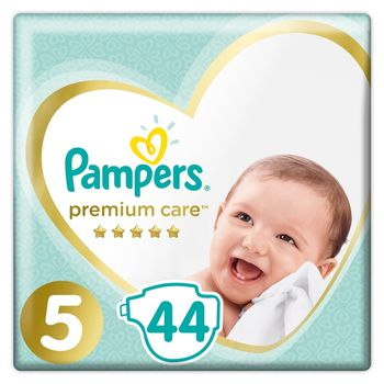Pampers Premium Care, Rozmiar 5, 44 pieluszki, 11kg-16kg