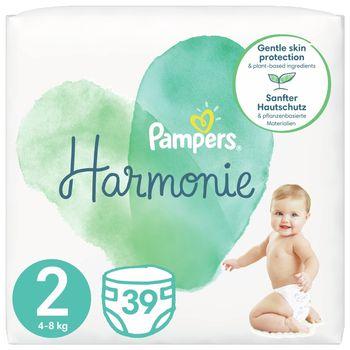 Pampers Harmonie Rozmiar 2, 39 pieluszki, 4kg-8kg