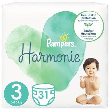Pampers Harmonie Rozmiar 3, 31 pieluszki, 6kg-10kg