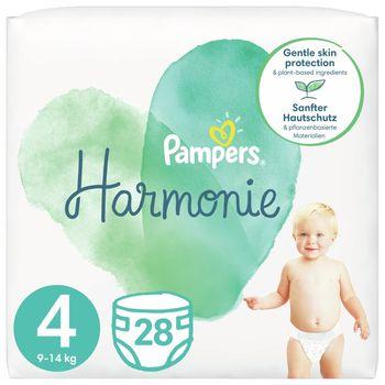 Pampers Harmonie Rozmiar 4, 28 pieluszki, 9kg-14kg