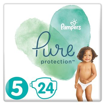 Pampers Pure Protection Rozmiar 5, 24 pieluchy, 11-16 kg