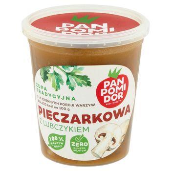 Pan Pomidor Zupa krem pieczarkowa z lubczykiem 400 g