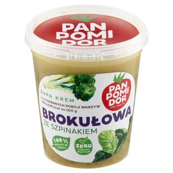 Pan Pomidor Zupa krem brokułowa ze szpinakiem 400 g