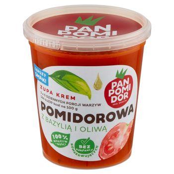 Pan Pomidor Zupa krem pomidorowa z bazylią i oliwą 400 g