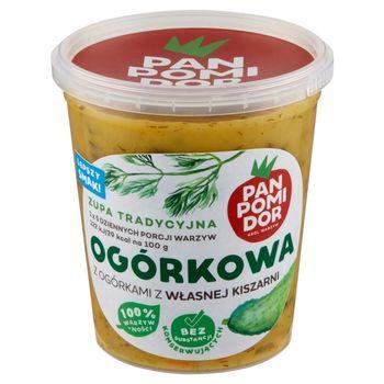 Pan Pomidor Zupa tradycyjna ogórkowa z ogórkami z własnej kiszarni 400 g