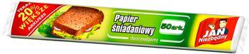 Papier śniadaniowy JAN NIEZBĘDNY Tłuszczoodporny 50 arkuszy
