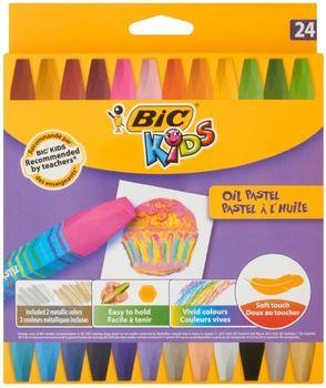 Pastele olejne BIC Kredki pastele olejowe Pudełko 24