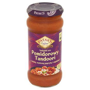 Patak's Indyjski sos pomidorowy Tandoori z cebulą wędzoną papryką i migdałami 350 g