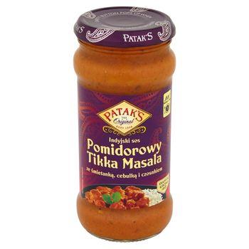 Patak's Indyjski sos pomidorowy Tikka Masala ze śmietanką cebulką i czosnkiem 350 g