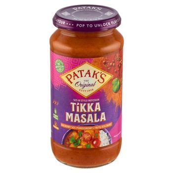 Patak's Tikka Masala Kremowy sos pomidorowy z nutą kolendry 450 g