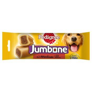 Pedigree Jumbone Medium Karma uzupełniająca z wołowiną 200 g (2 sztuki)