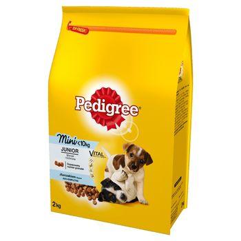 Pedigree Vital Protection Junior Mini <10 kg Karma pełnoporcjowa z kurczakiem i ryżem 2 kg