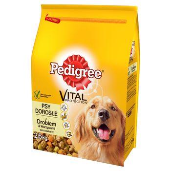 Pedigree Vital Protection Psy dorosłe Karma pełnoporcjowa z drobiem & warzywami 2,6 kg