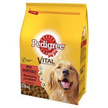 Pedigree Vital Protection Psy dorosłe Karma pełnoporcjowa z wołowiną & drobiem 2,6 kg