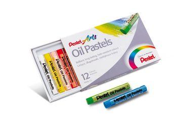 Pentel Pastele olejne w 12 kolorach PHN-12