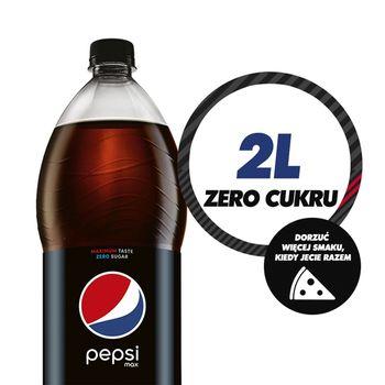 Pepsi Bez Kalorii Napój gazowany 2 l