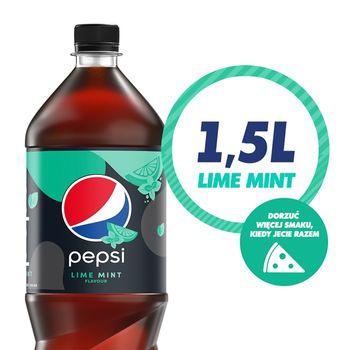 Pepsi Lime Mint Napój gazowany 1,5 l