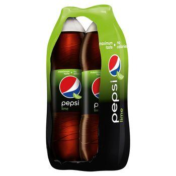 Pepsi Lime Napój gazowany 2 x 2 l