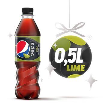 Pepsi Lime Napój gazowany 500 ml