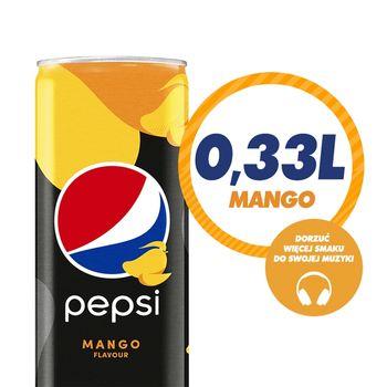 Pepsi Mango Napój gazowany 330 ml
