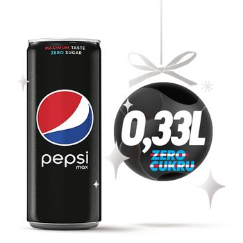 Pepsi Max Napój gazowany 330 ml