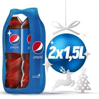 Pepsi Napój gazowany 2 x 1,5 l