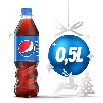 Pepsi Napój gazowany 500 ml