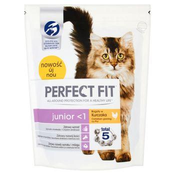 Perfect Fit Junior <1 Karma pełnoporcjowa dla kociąt oraz kotek ciężarnych i karmiących 750 g