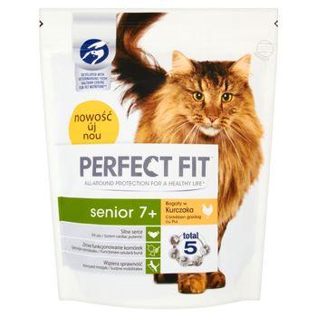 Perfect Fit Senior 7+ Karma pełnoporcjowa dla starszych kotów 750 g