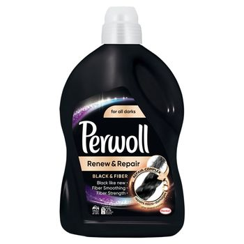 Perwoll Renew & Repair Black & Fiber Płynny środek do prania 2,7 l (45 prań)