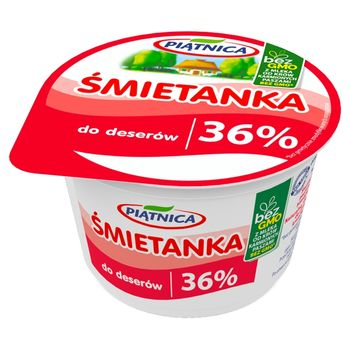 Piątnica Śmietanka do deserów 36% 200 g