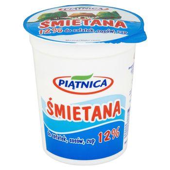 Piątnica Śmietana do sałatek sosów zup 12% 400 g