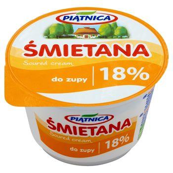 Piątnica Śmietana do zupy 18% 200 g