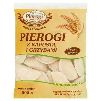 Pierogi Kobiela Pierogi z kapustą i grzybami 500 g