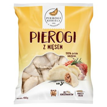 Pierogi Kobiela Pierogi z mięsem 450 g