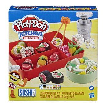 Play Doh Ciastolina zestaw Sushi E7915