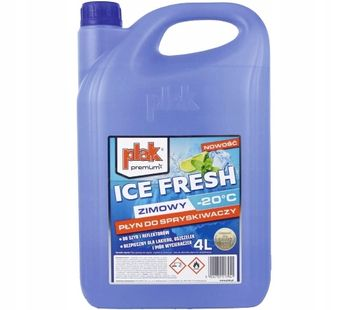 PLAK ZIMOWY PŁYN DO SPRYSKIWACZY ICE FRESH -20C 4L