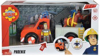 Pojazd phoenix SIMBA Strażak Sam pojazd phoenix z figurką 109258280038