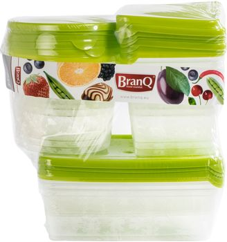 Pojemnik BRANQ Pojemniki do żywności rukolia 17 szt.
