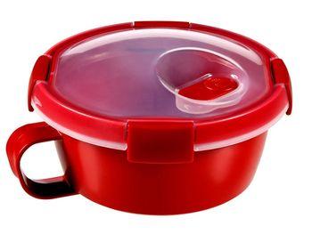Pojemnik CURVER Smart Micro na zupę Czerwony 0.6L