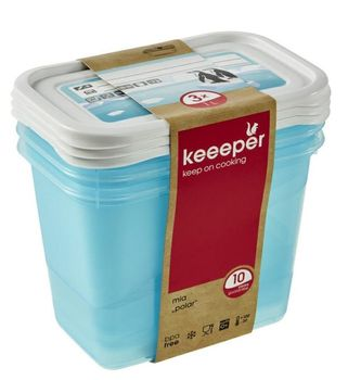 Pojemnik na Żywność KEEEPER Polar Mia 3x 1 l Polar 3x 1 l