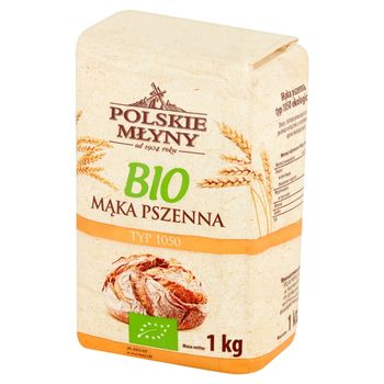 Polskie Młyny BIO Mąka pszenna typ 1050 1 kg