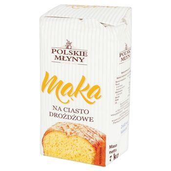 Polskie Młyny Mąka na ciasto drożdżowe 1 kg