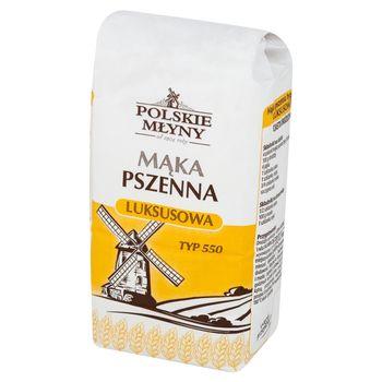 Polskie Młyny Mąka pszenna luksusowa typ 550 1 kg