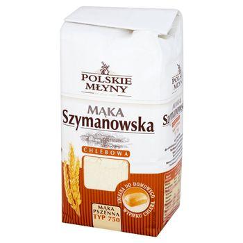 Polskie Młyny Mąka Szymanowska chlebowa pszenna typ 750 1 kg