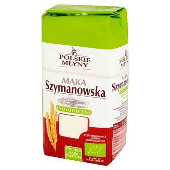 Polskie Młyny Mąka Szymanowska ekologiczna pszenna typ 480 1 kg